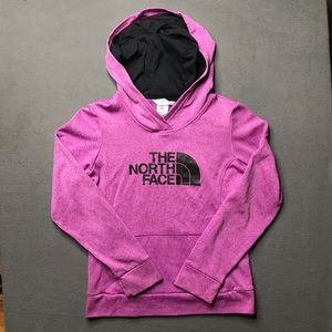 Women's Purple North Face Hoodie size Small
